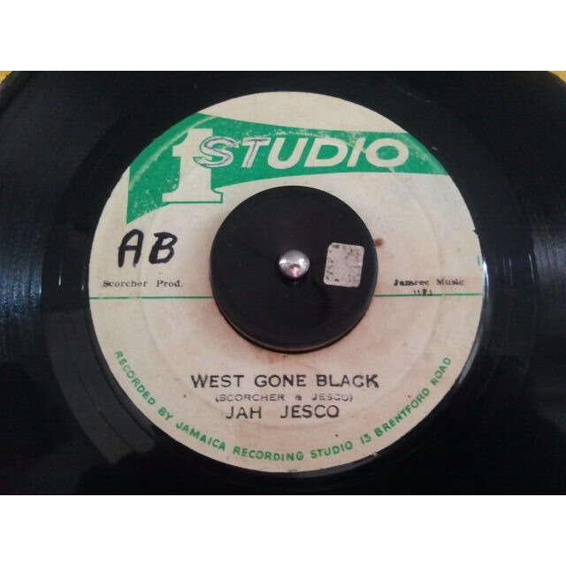 JAH JESCO / SOUND DIMENSION WEST GONE BLACK / WEST BLACK ORIG
