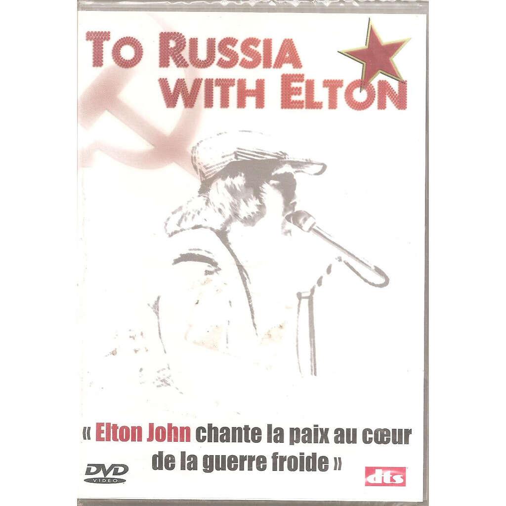 Elton john to russia with elton - Live (dvd)