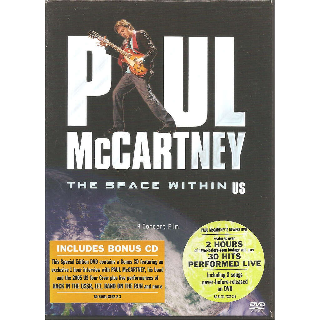 paul mc cartney THE SPACE WITHIN US