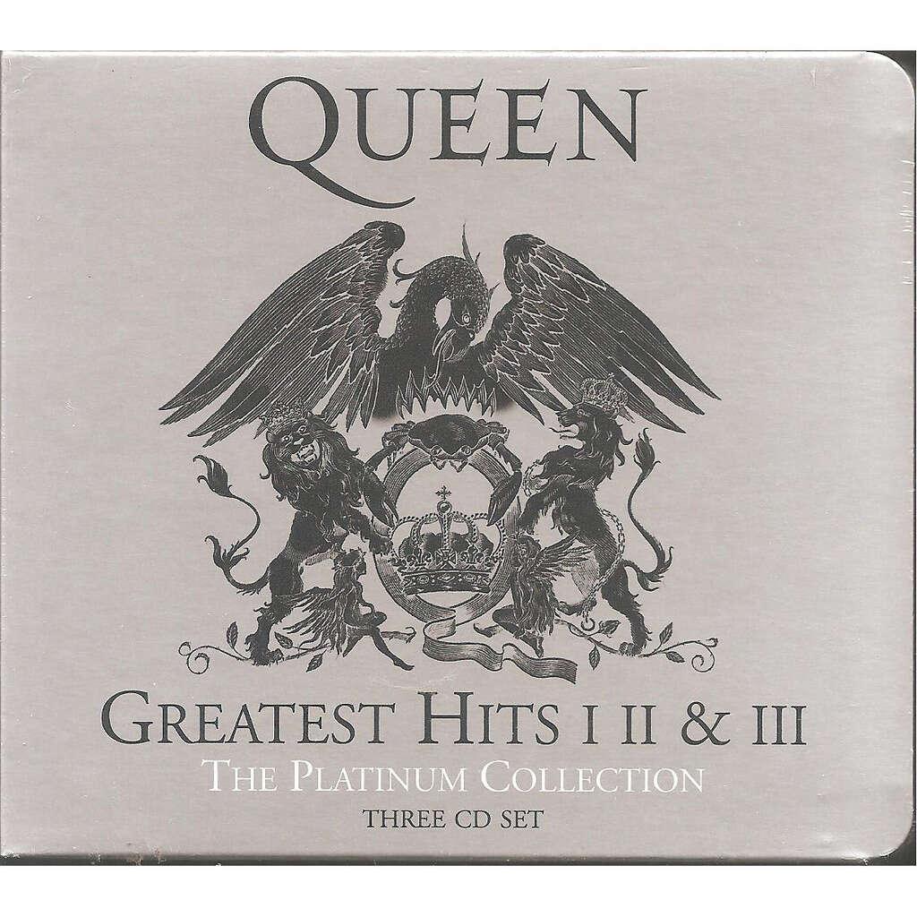 Queen Greatest Hits I II & III