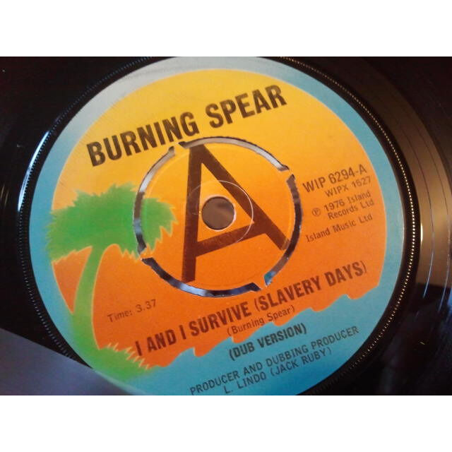 WINSTON RODNEY / JACK RUBY ALL STARS Black Wa-Da-Da (Invasion) (Dub Version) / I And I Survive (Slavery Days) (Dub Version) ORIG