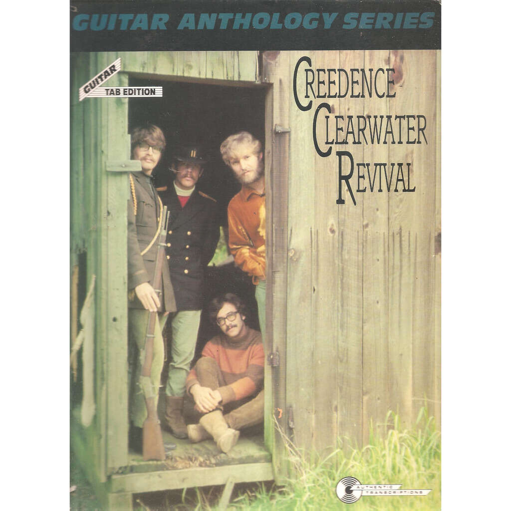 Creedence Clearwater Revival Guitar anthologie séries