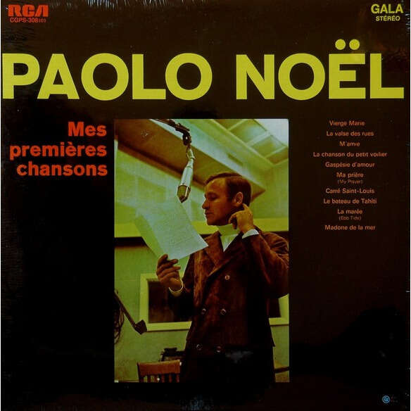 paolo noel mes premieres chansons