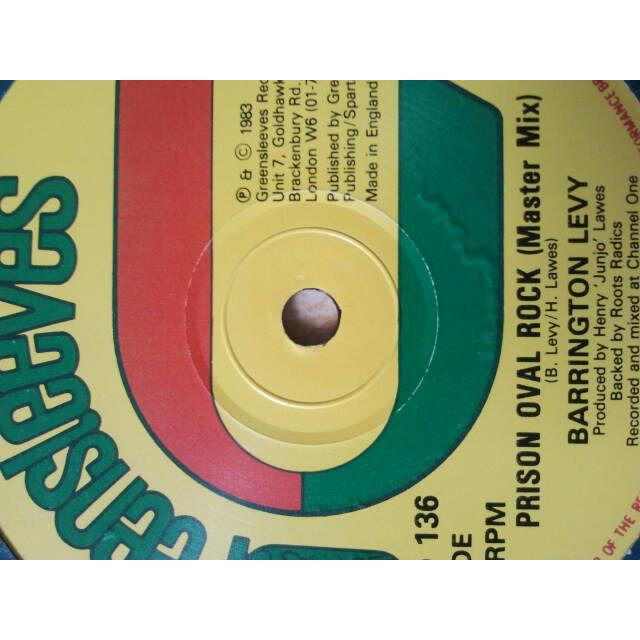 Barrington Levy / ROOTS RADICS Prison Oval Rock MASTER MIX / DUB PLATE MIX VOCAL / DUB ORIG