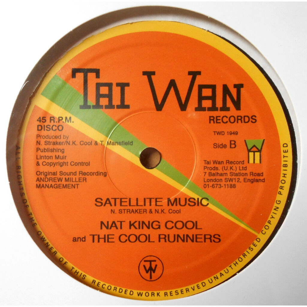 Nat King Cool And The Cool Runners Checking Out / satellite music
