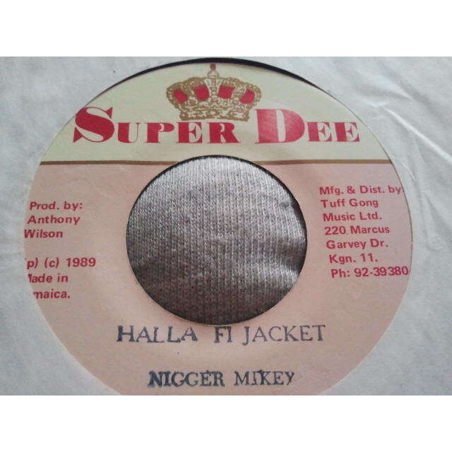 Nigger Mikey Halla Fi Jacket / VERSION ORIG