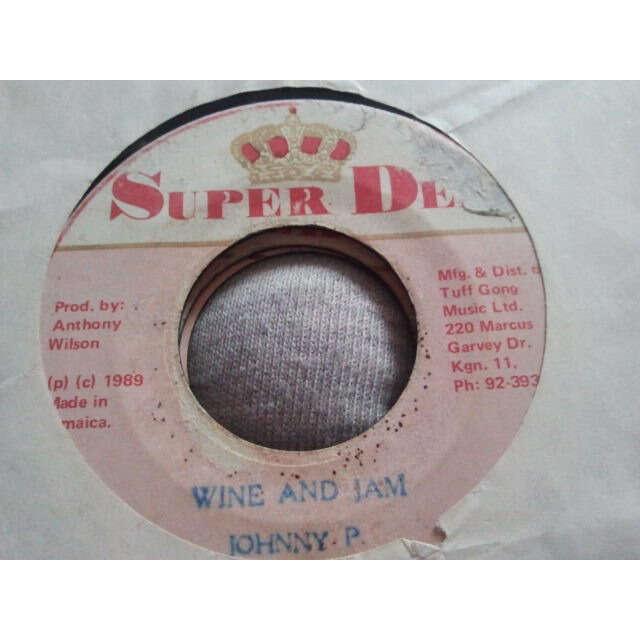 Johnny P Wine And Jam / Version ORIG