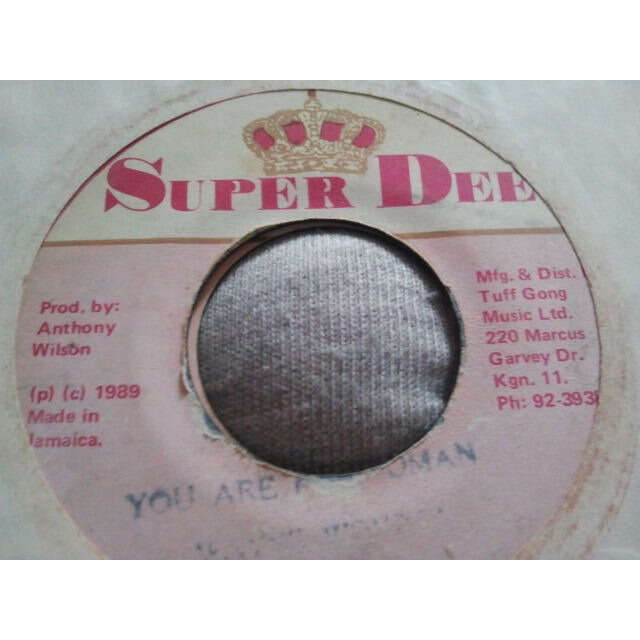 WAYNE WONDER YOU ARE MY WOMAN / VERSION ORIG