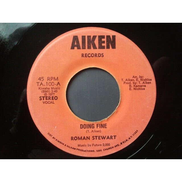 Roman Stewart Doing Fine / instrumental ORIG
