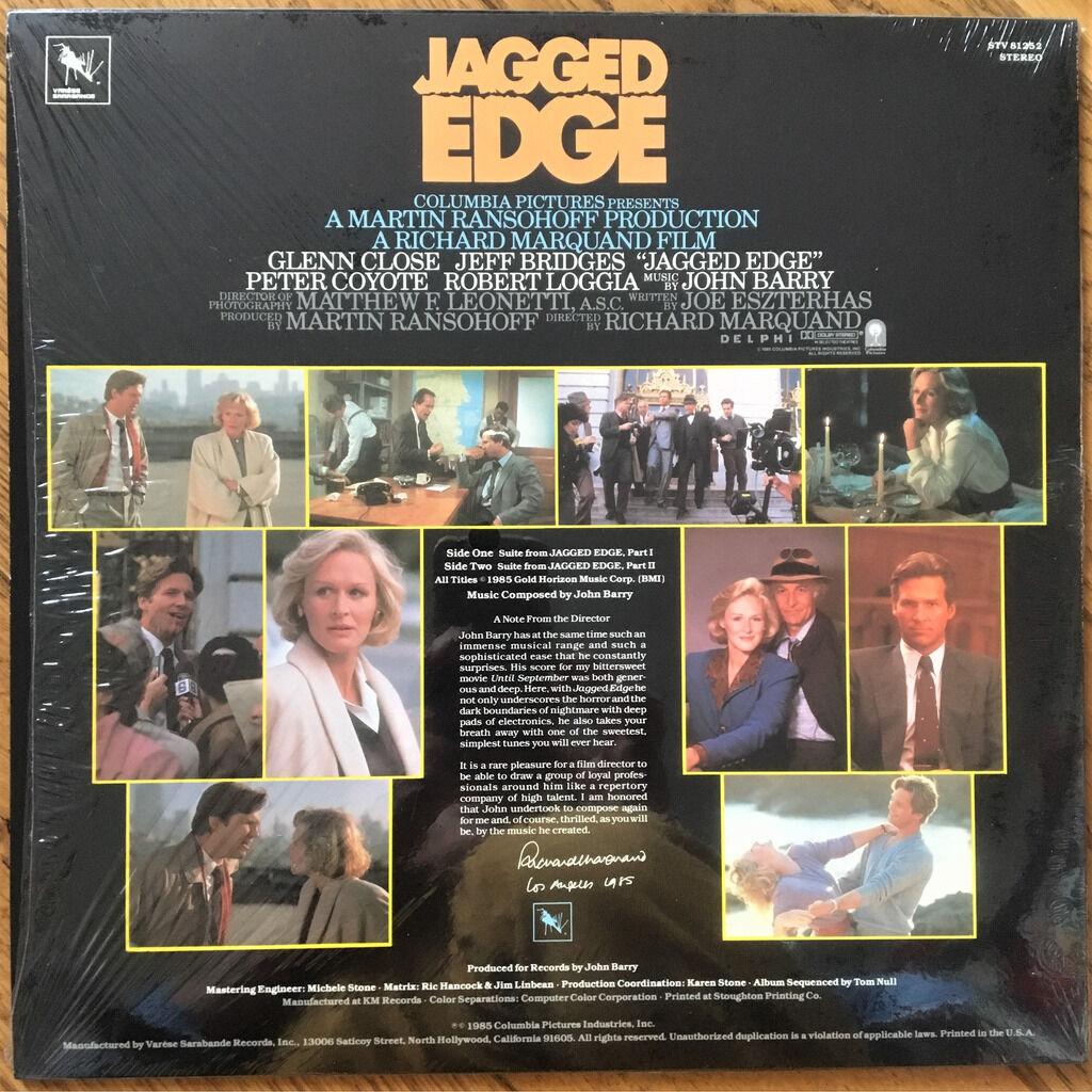 John Barry Jagged Edge