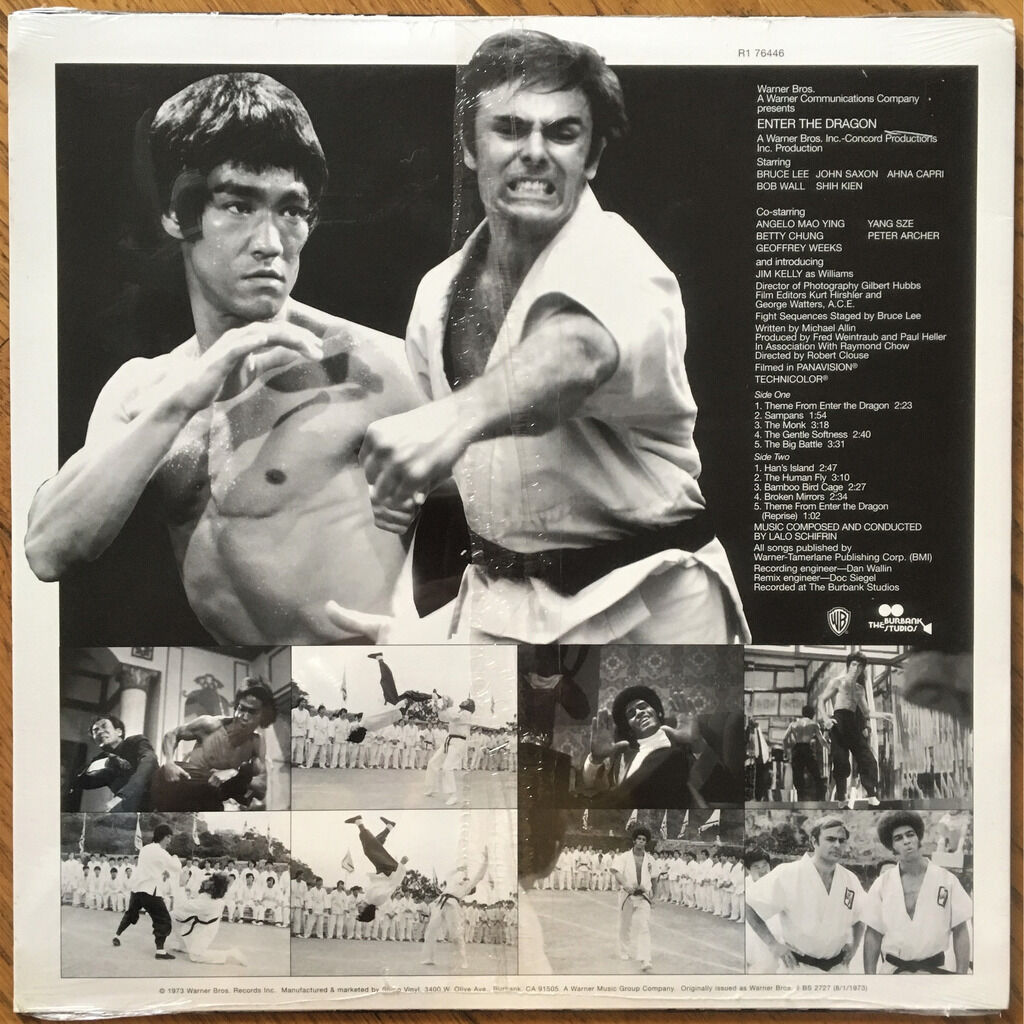 Lalo Schifrin Enter The Dragon Original Soundtrack