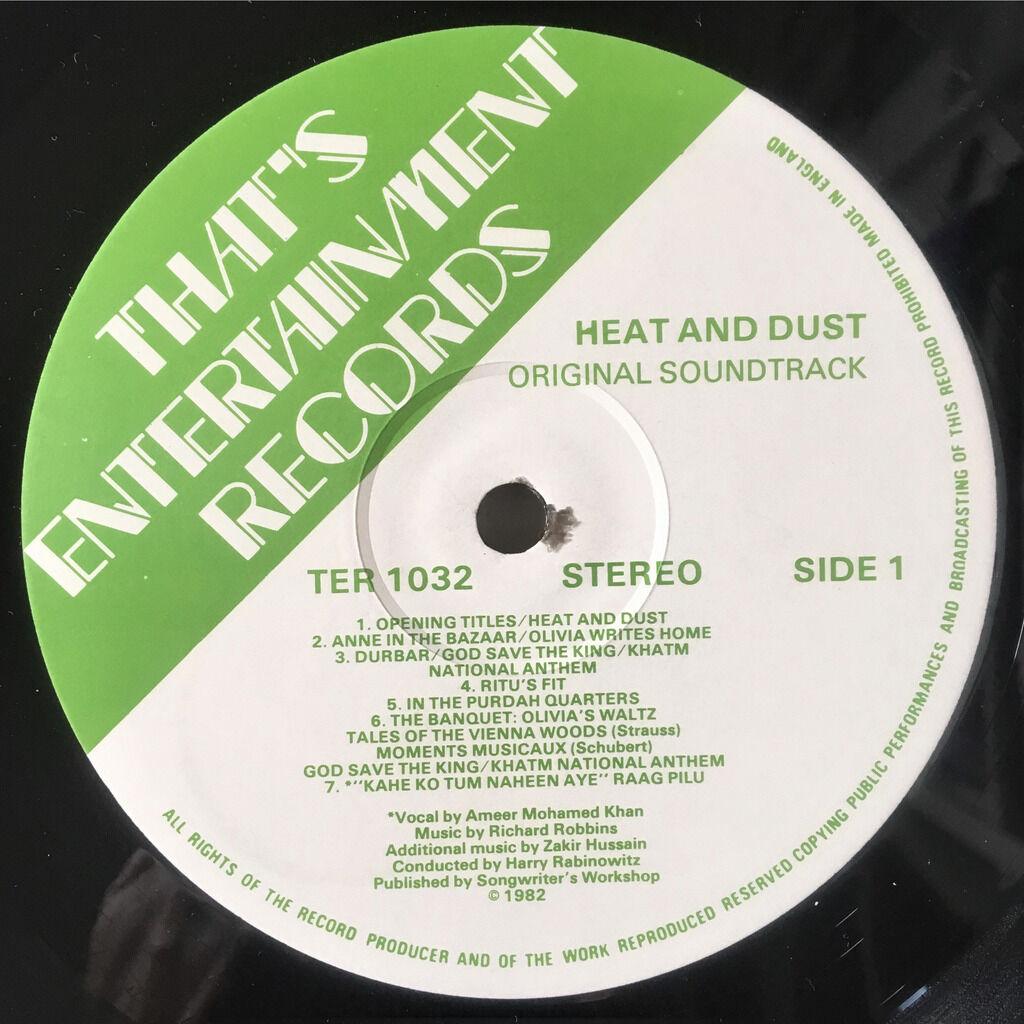 Richard Robbins Heat And Dust