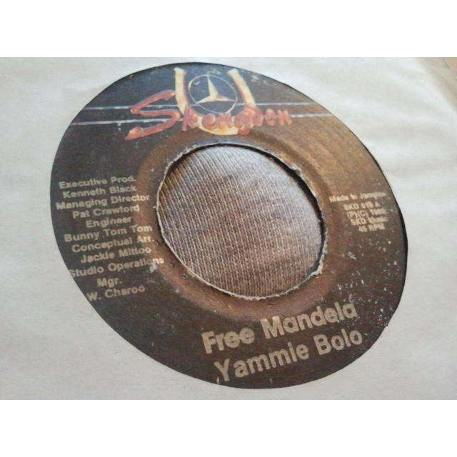 YAMMIE BOLO / SKENGDON ALL STARS FREE MANDELA / PRETORIA VERSION ORIG.