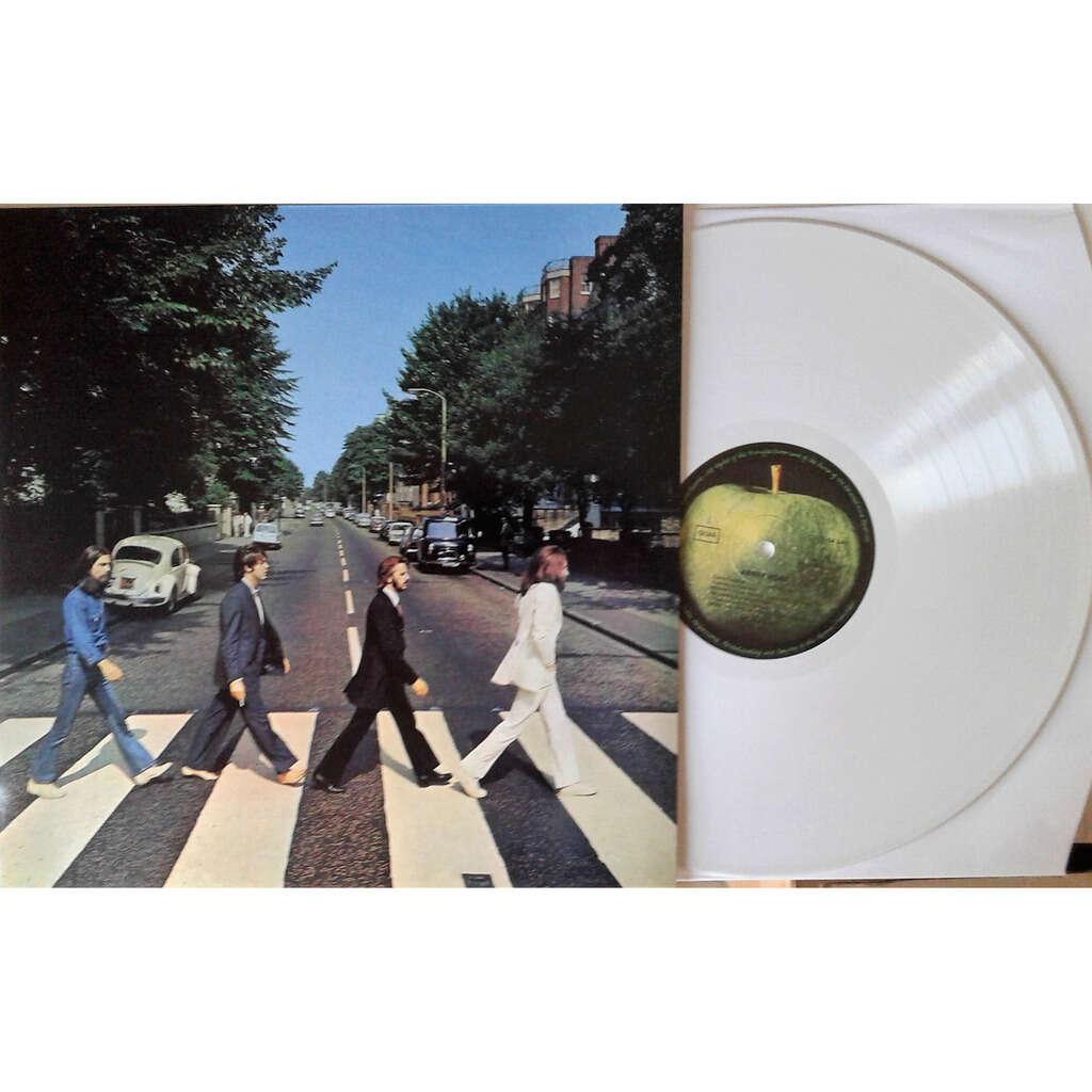 the beatles Abbey Road (German Ltd re 16-trk LP WHITE wax full ps)