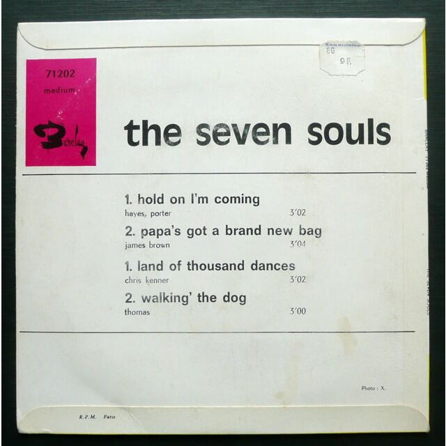 The Seven Souls Hold On I'm Coming