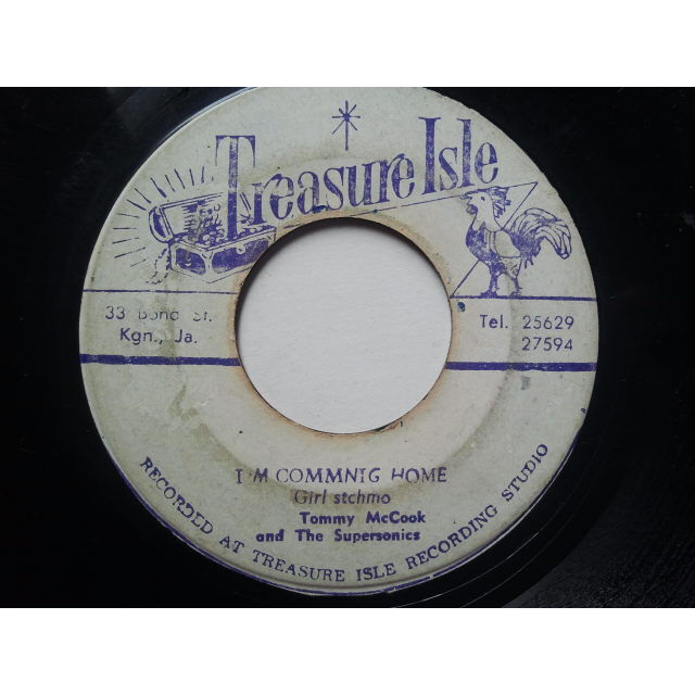 Girl Stchmo / Tommy McCook & The Supersonics I'm Commnig Home / Take You For A Ride ORIG