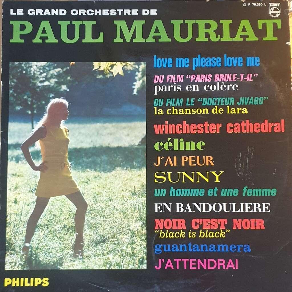 Paul MAURIAT et son grand orchestre Diverses chansons