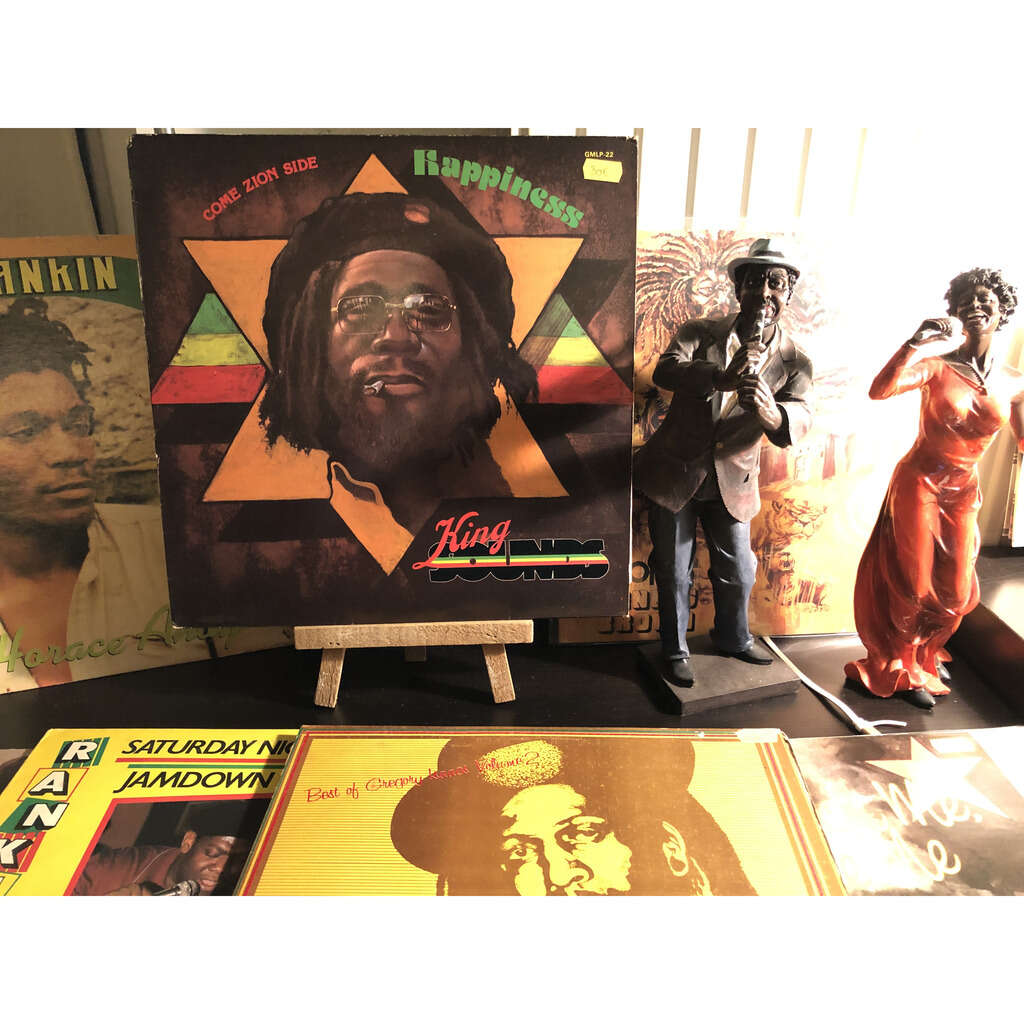 king sounds Come Zion side / Happiness