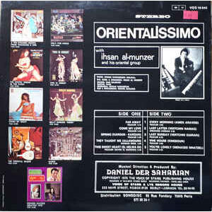 Orientalissimo Ihsan Al-Munzer And His Oriental Group