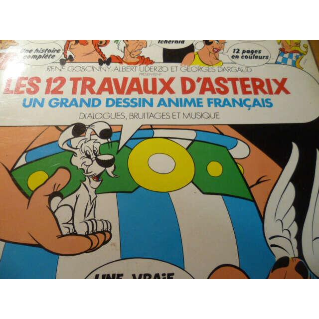 Gérard Calvi Les 12 Travaux D'Astérix
