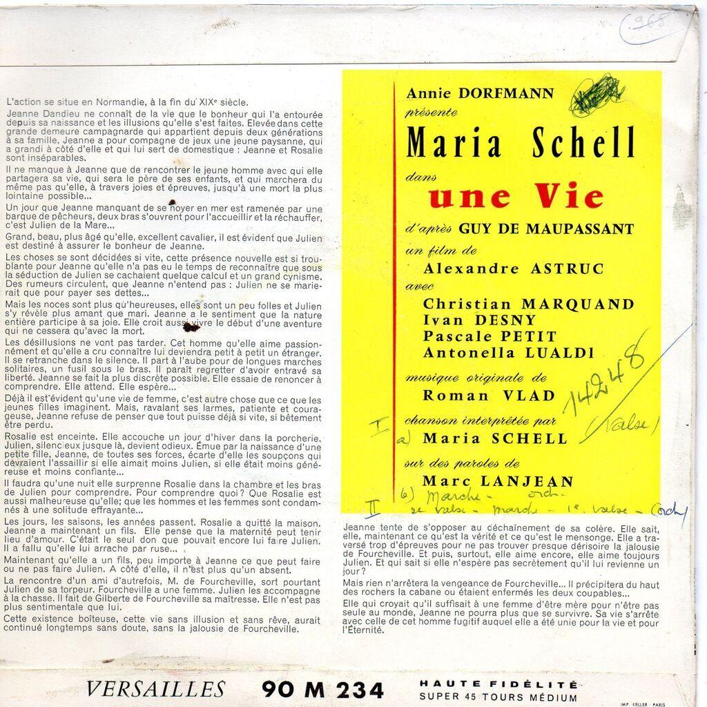 Maria Schell Une Vie - Partie 1/Une Vie - Partie 2