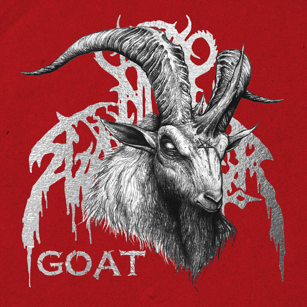 NUNSLAUGHTER Goat. Black Vinyl
