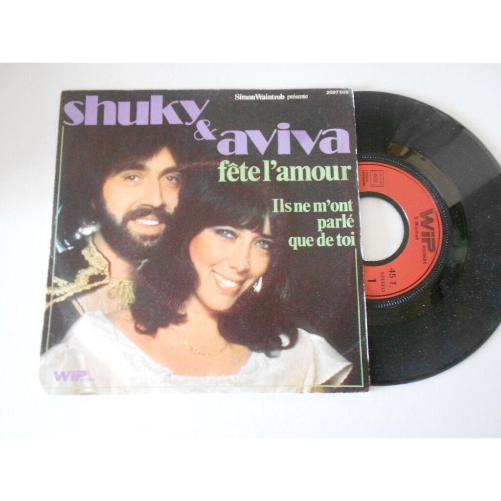 shuky & aviva fete l'amour § ils ne m'ont parlé que de lui