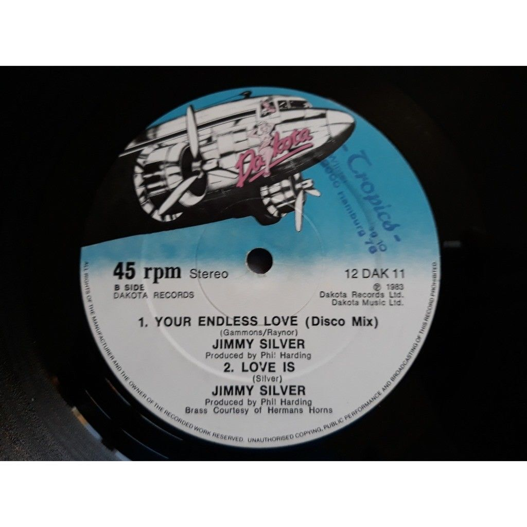 JIMMY SILVER YOUR ENDLESS LOVE / LOVE IS