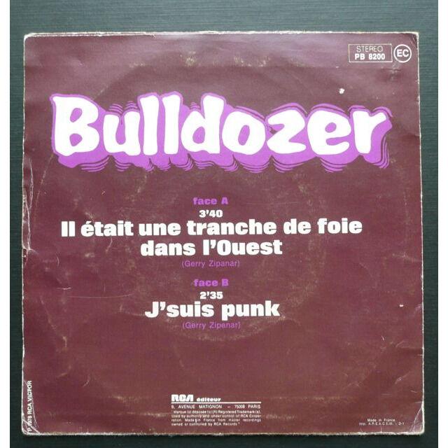Bulldozer Il Etait Une Tranche De Foie Dans L'ouest