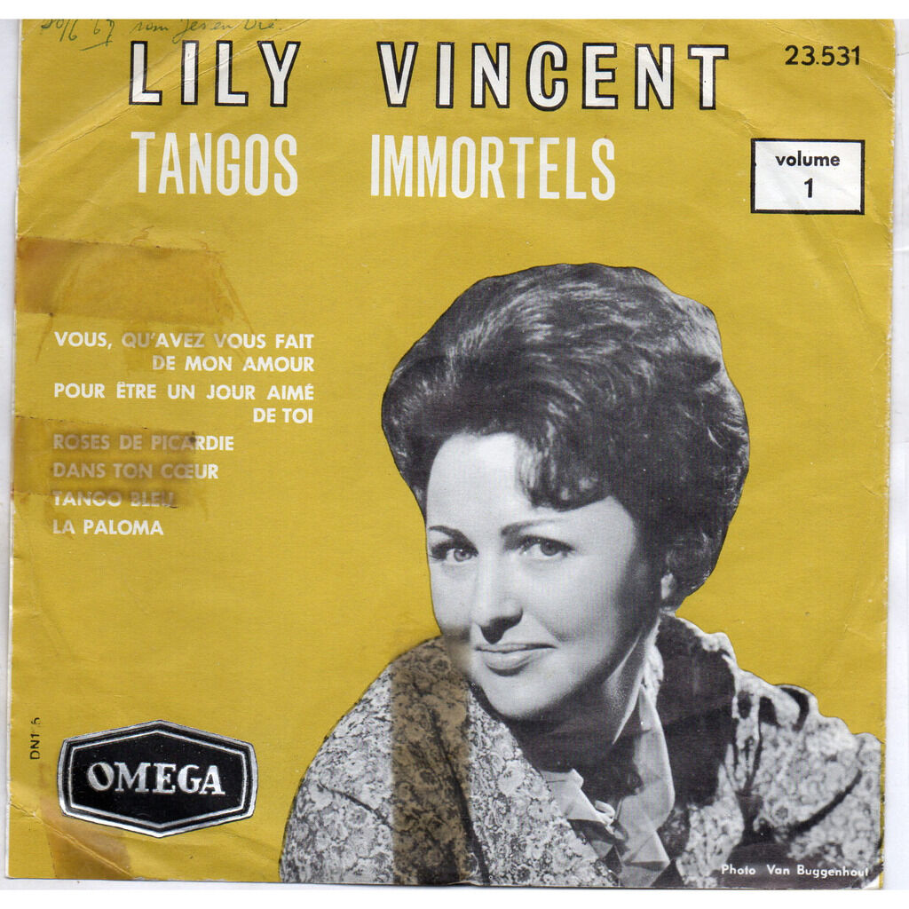 LILY VINCENT Tangos Immortels volume 1