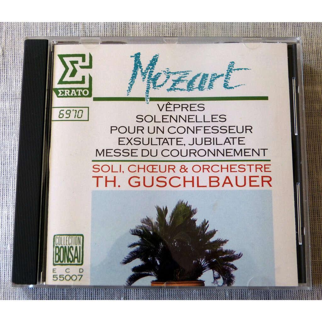 W.A.Mozart Vêpres solennelles pour un confesseur / Exsultate jubilate / messe du couronnement