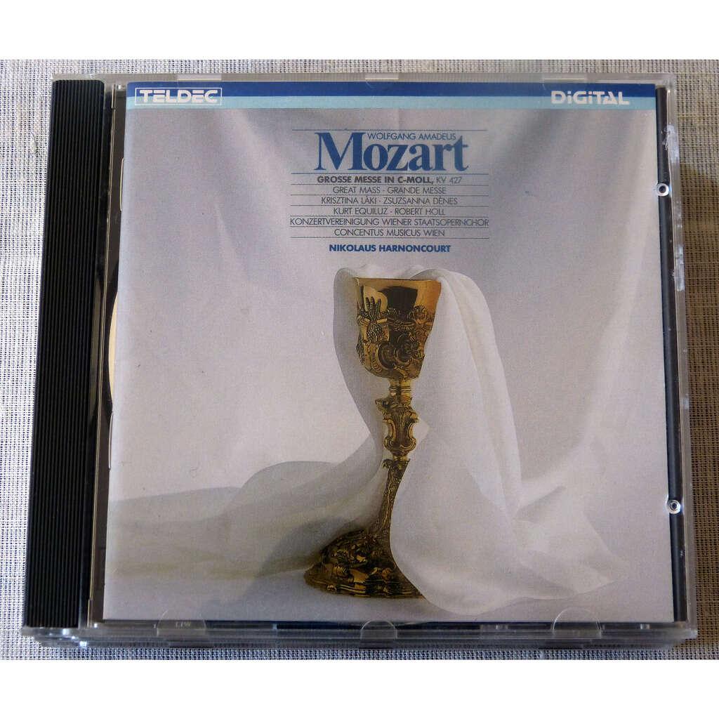 W.A.Mozartt / Nikaulos Harnoncourt Grande Messe