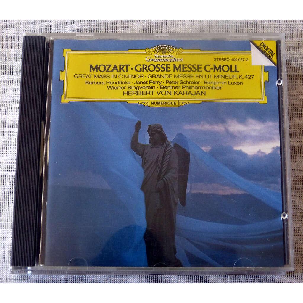 W.A.Mozart / herbert Von Karajan Grande mese en Ut mineur K.427