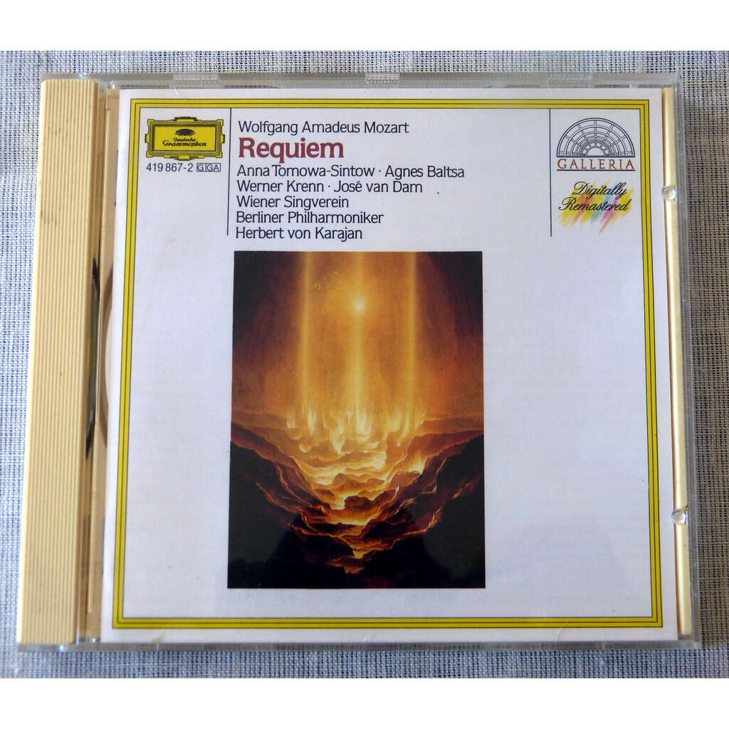 W.A.Mozart / Herbert Von Karajan Requiem