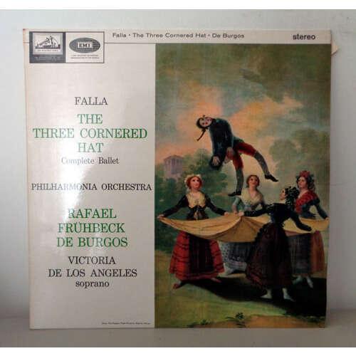 RAFAEL FRUHBECK DE BURGOS & DE LOS ANGELES FALLA The three cornered hat complete ballet