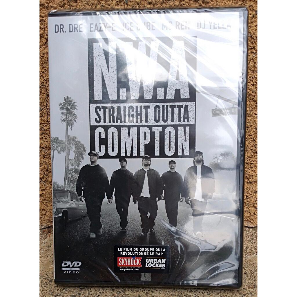 Dr Dre, Eazy E, Ice Cube, MC Ren, DJ Yella NWA Straight outta Compton