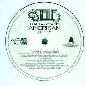 Estelle feat. Kanye West American boy