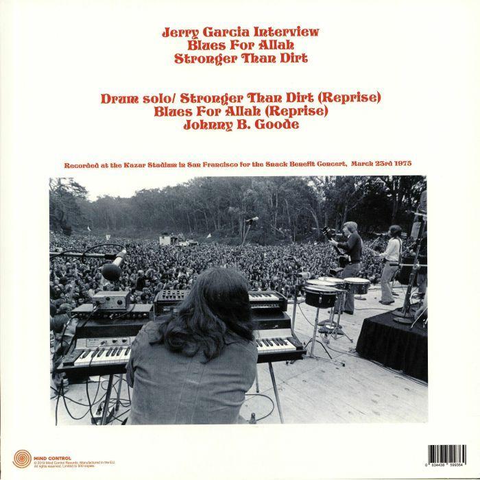 The Grateful Dead The Snack Benefit Broadcast 1975 (lp)