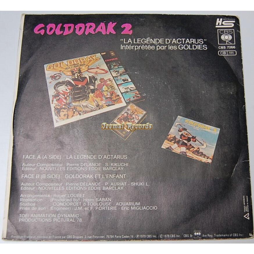 Les goldies Goldorak 2 (La légende d'actarus) / Goldorak Et L'Enfant