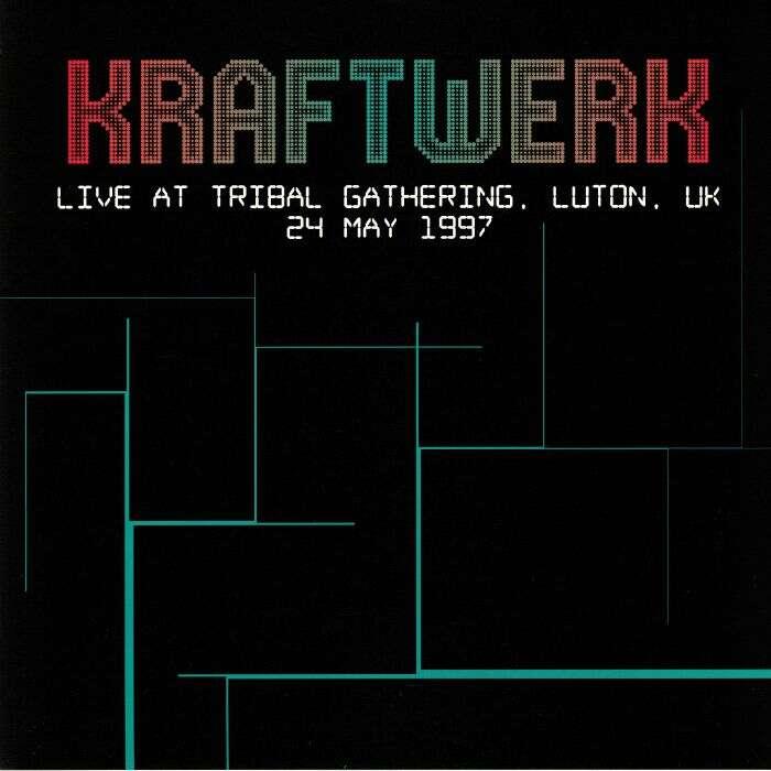 Kraftwerk Live At Tribal Gathering, Luton, UK 24 May 1997 (lp)