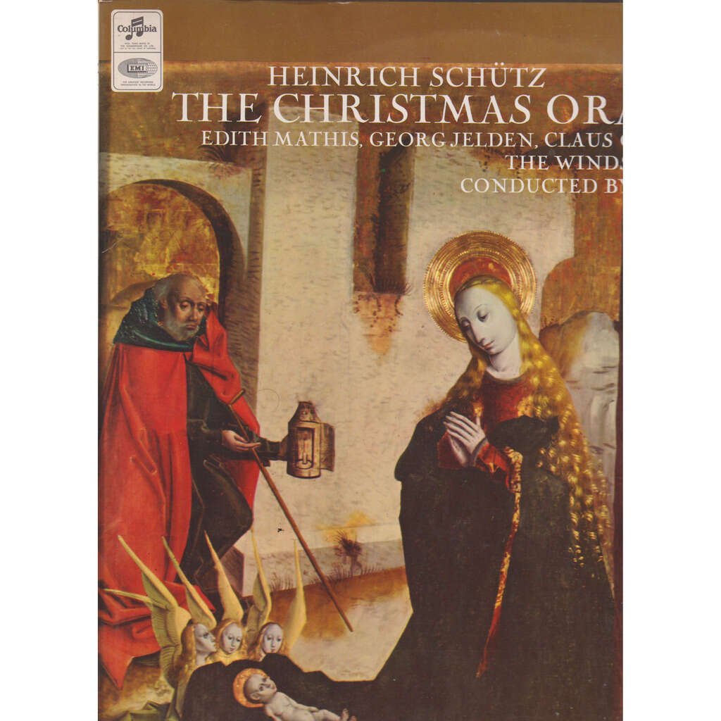 edith mathis, windsbach boy's choir, hans thamm schütz: christmas oratorio
