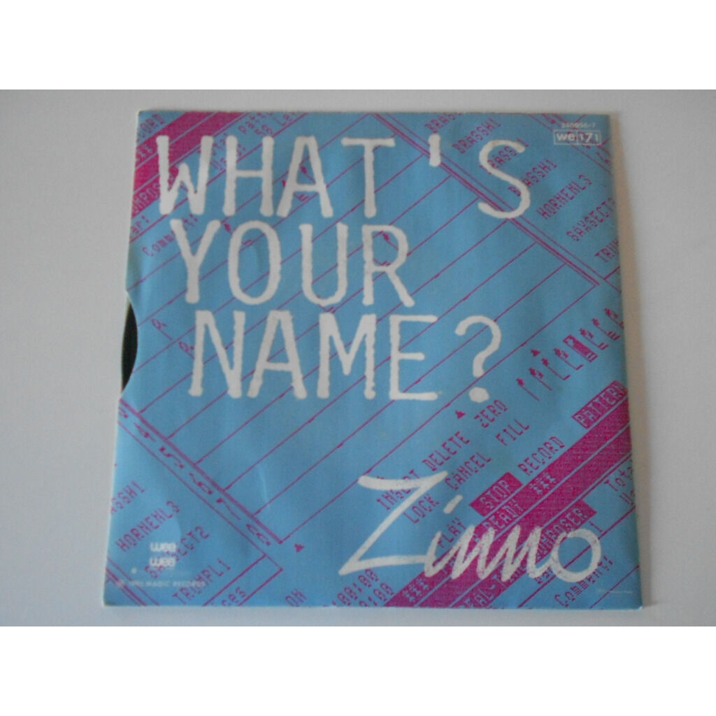 zinno what's your name ? § zinno march