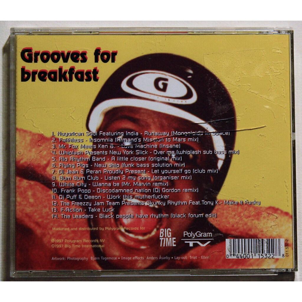 Various Grooves For Breakfast