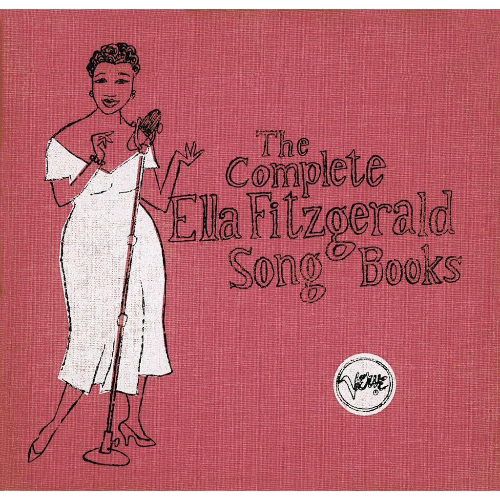 ella fitzgerald The complete Ella Fitzgerald Song Books - 16 CD's Box-Set