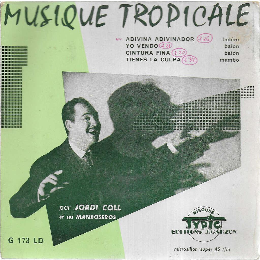 Jordi COLL y sus Manboseros Musique Tropicale