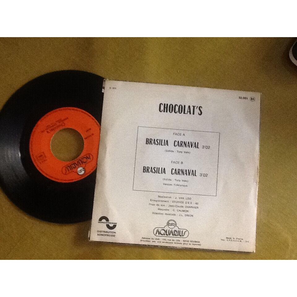Chocolat's Brasilia carnaval. ( version originale ) + version folklorique