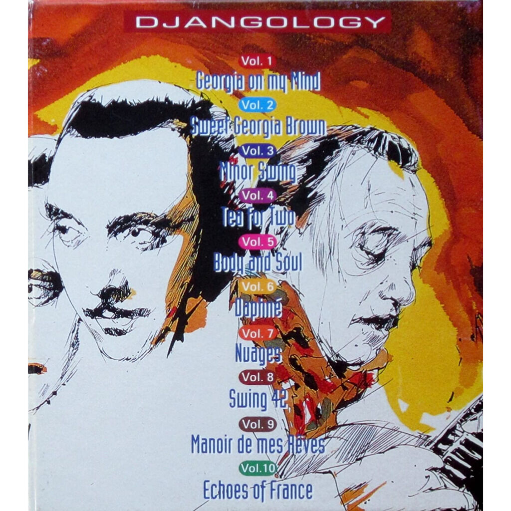 django reinhardt Djangology 10 CD's Box-Set