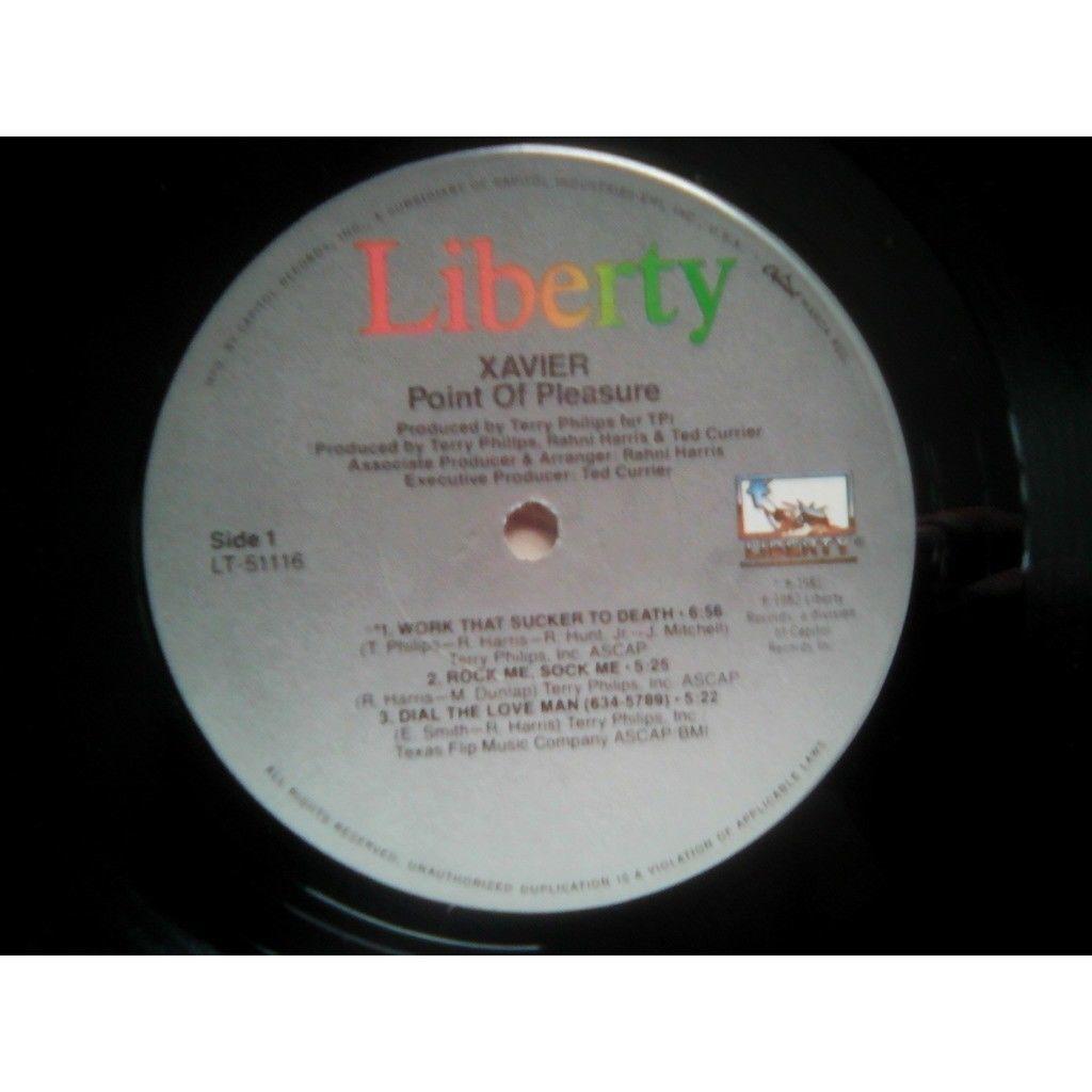 Xavier (2) - Point Of Pleasure (LP, Album) Xavier (2) - Point Of Pleasure (LP, Album)1982