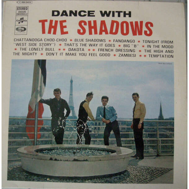 The SHADOWS Dance with The Shadows (second French press - 1964-1967 - Fleepback cover - BIEM deep green label)