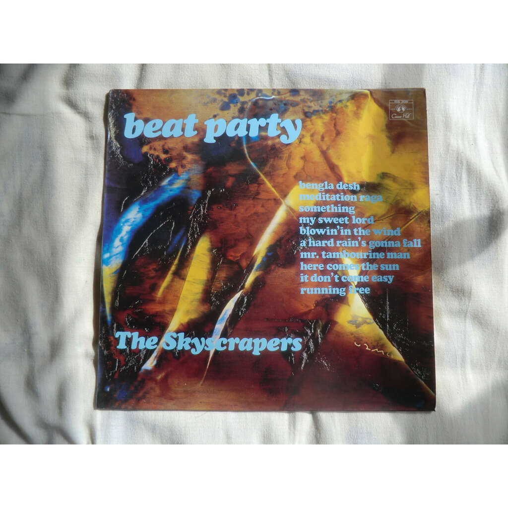 SKYSCRAPERS (The) Beat Party (original French press - early 1970s)